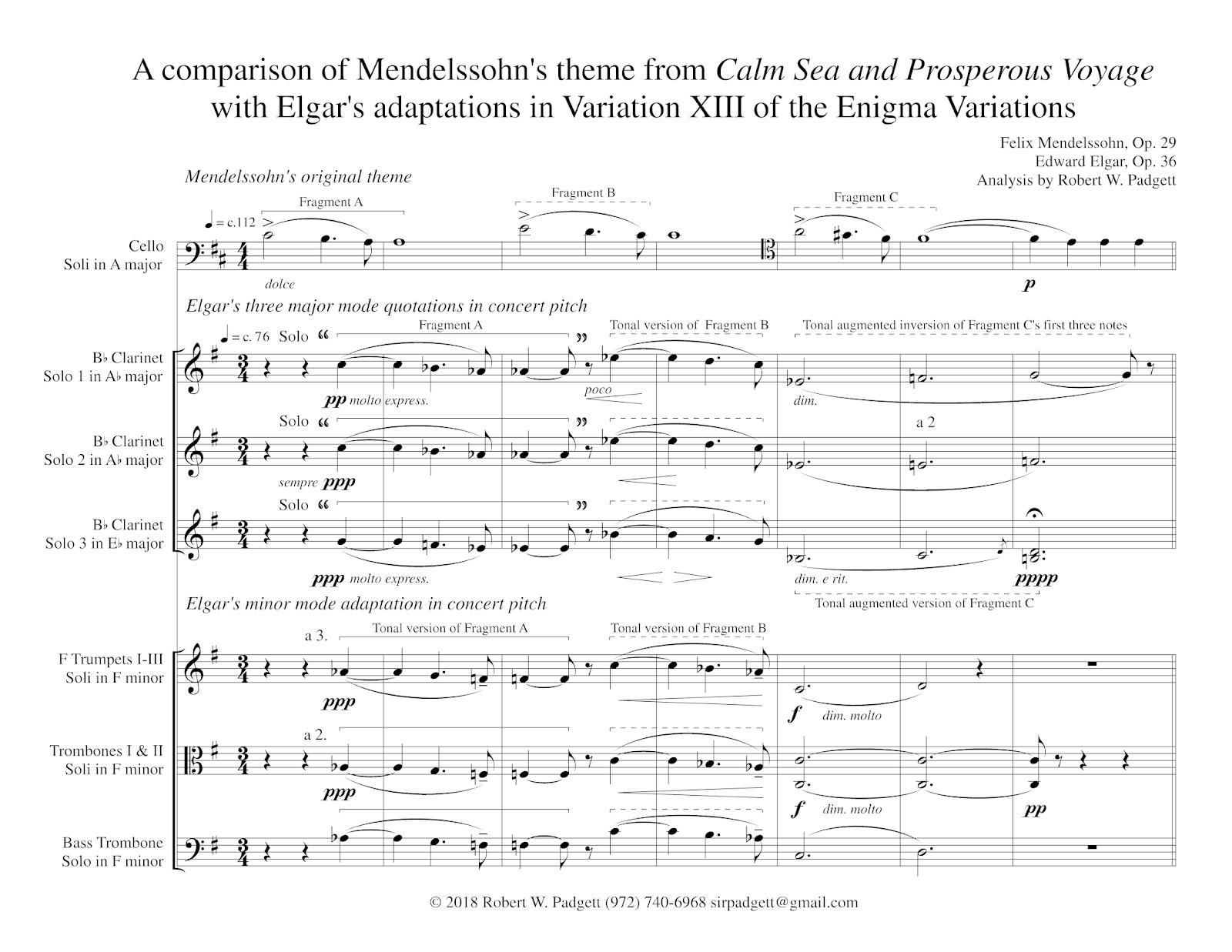 Robert W  Padgett – Elgar's Enigmas Exposed