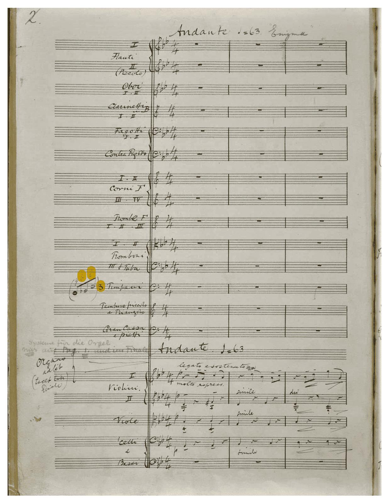 Enigma Theme – Elgar's Enigmas Exposed